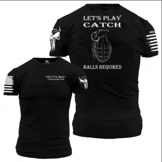 Let's play catch - tee shirt at Sclemmeriron.com