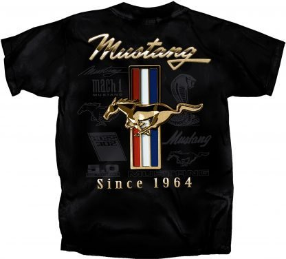 Mustang Since 1964 - T-Shirt at Sclemmeriron.com