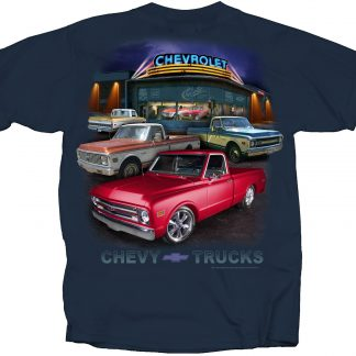 Chevy trucks tee shirt at Schlemmeriron.com